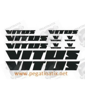 Sticker decal bike VITUS