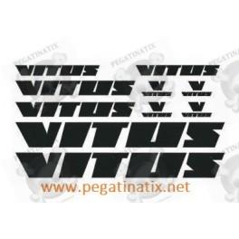 """Sticker /""""VITUS/"""" NOS Ref 01"""