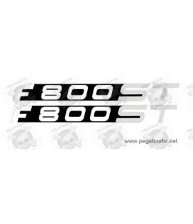 Stickers decals motorcycle BMW F800ST