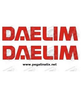 Stickers decals motorcycle DAELIM
