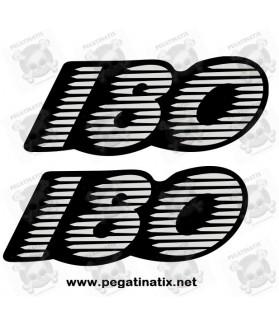 Stickers decals motorcycle GILERA RUNNER 180