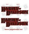 Stickers decals motorcycle HARLEY DAVIDSON VINTAGE