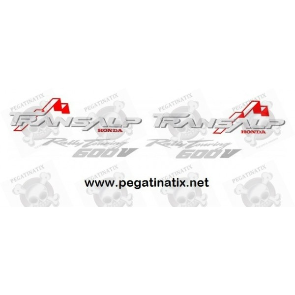 Stickers Decals Honda Transalp