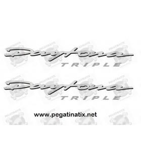 Decals TRIUMPH 675 TRIPLE QUILLA