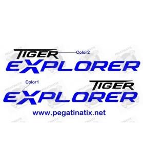 Decals TRIUMPH TIGER EXPLORER