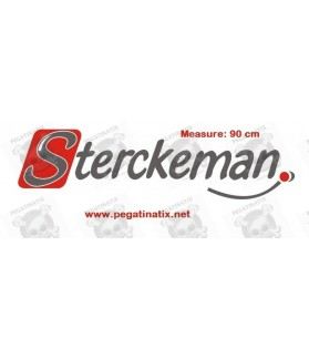 Stickers decals caravans STERCKEMAN LOGO