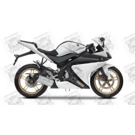 yamaha yzf r125  Yamaha YZF-R125 2012 - WHITE VERSION