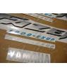 YAMAHA FZS1000 FAZER 2003 - DARK BLUE VERSION DECALS SET