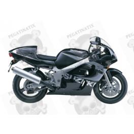 Suzuki Gsx R 600 1999 Black Grey Version