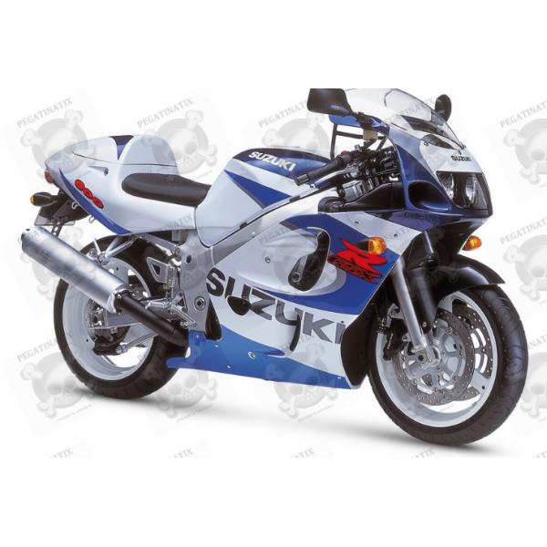 Suzuki Gsx R 600 1999 White Blue Version