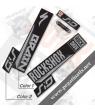 ROCKSHOX SID BRAIN 2018 BLACK FORK DECALS KIT