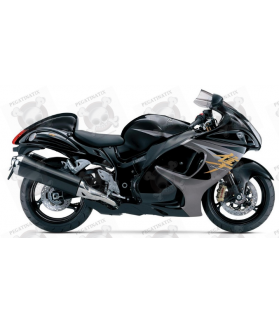 SUZUKI HAYABUSA 2014 - BLACK VERSION DECALS