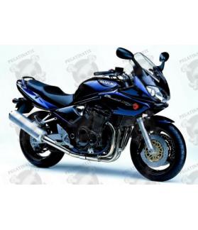 Suzuki Bandit 1200S 2002 - DARK BLUE VERSION DECALS