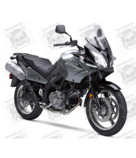 SUZUKI DL650 V-STROM 2009 - DARK GREY VERSION DECALS