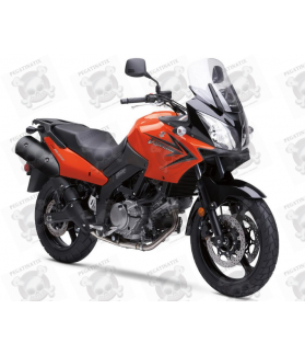 SUZUKI DL650 V-STROM 2009 - ORANGE VERSION DECALS
