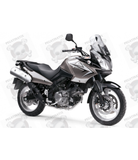 SUZUKI DL650 V-STROM 2010 - BROWN VERSION DECALS