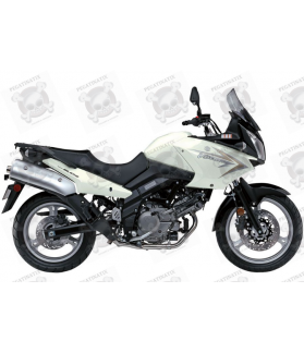 SUZUKI DL650 V-STROM 2010 - WHITE VERSION DECALS