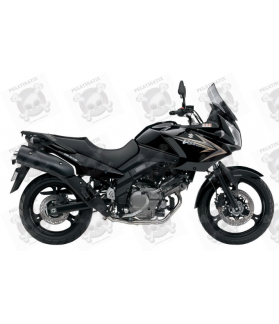 SUZUKI DL650 V-STROM 2011 - BLACK VERSION DECALS