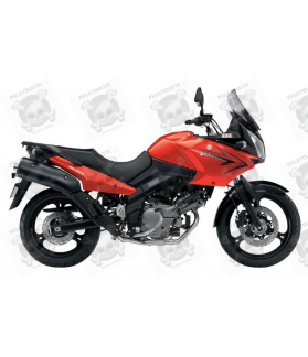 SUZUKI DL650 V-STROM 2011 - ORANGE VERSION DECALS