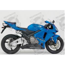 Adhesivo Honda Cbr 600rr Ano 2005 Azul
