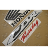 Honda CBR 600RR 2008 - SILVER VERSION DECALS