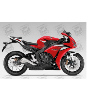 Honda CBR 1000RR 2012 - RED/BLACK/WHITE VERSION DECALS