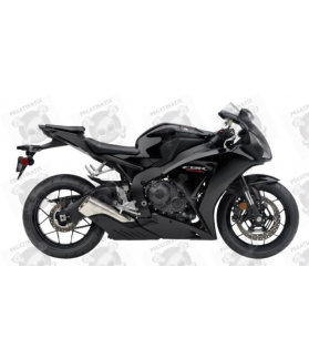 Honda CBR 1000RR 2013 - BLACK VERSION DECALS