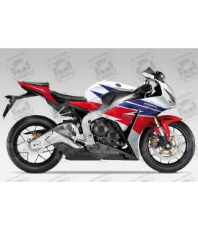 Honda CBR 1000RR 2013 - HRC EU VERSION DECALS