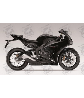 Honda CBR 1000RR 2014 - BLACK VERSION DECALS